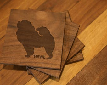 Chow Chow Coaster Set