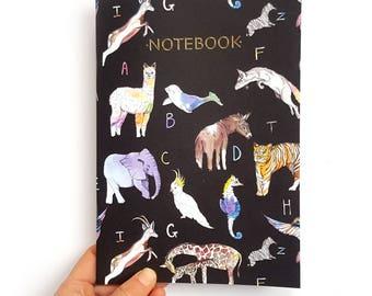 ABC Animal Alphabet Notebook