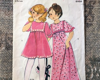 Vintage boss children dresses.