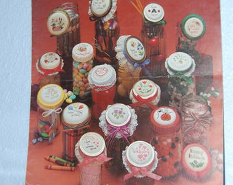 JAR LIDS For All Occasions Cross Stitch Patterns