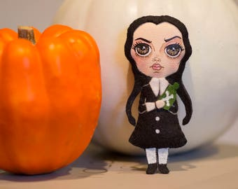 Wednesday Addams mini plush. Wednesday Addams / Addams Family