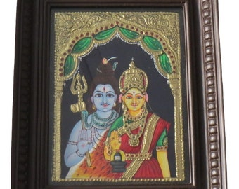 God Shiva and Goddess Parvathi