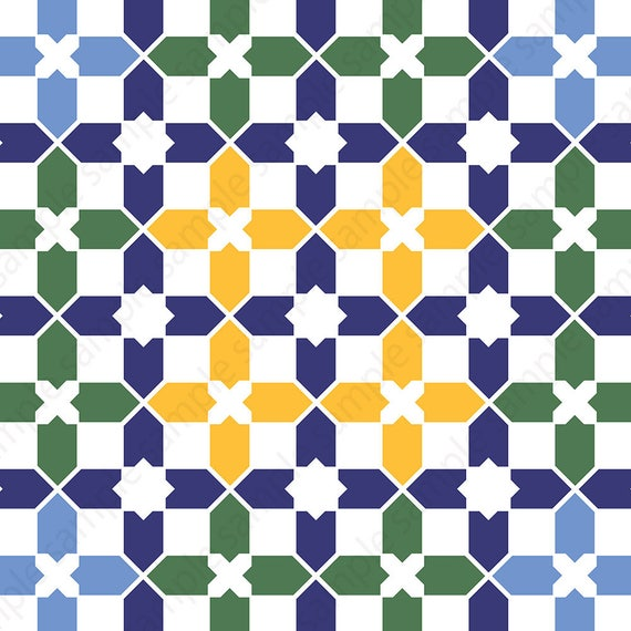 Islamic pattern Islamic wall art Geometric wall art Islamic