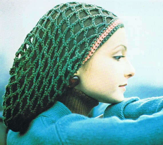 Rasta Tam Crochet Pattern Pdf T203 Vintage