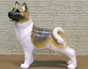 Akita Dog Figurine
