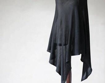 women's cape/wrap sweater/knit sweater/wool poncho/women's sweater/knit poncho/black poncho/women's poncho/knit cape/knit scarf