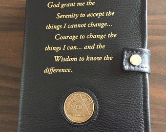 Double Leather Black AA Book Cover