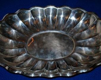 Reed & Barton Holiday silverplate bowl or tray