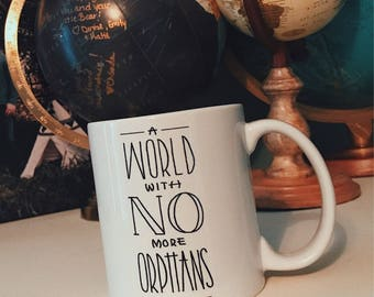 NO MORE ORPHANS Coffee Mug