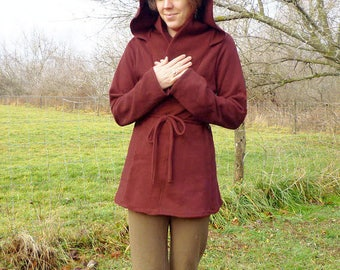 Add Hood to Sweaters Dresses and Shirts Organic Clothing Hiking Accessories Active Women Warm Hoodie Dress Hoodie Tank Hoodie Sweater