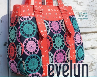 Evelyn Market Tote - Swoon Patterns - Bag Pattern