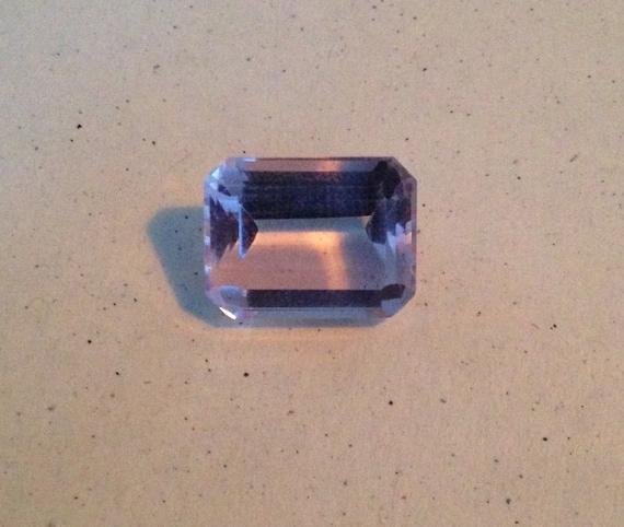6 Ct Emerald Cut Amethyst Octagonal  (7mm x 10mm x 12.85mm)