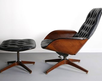 Mid Century Modern Mr. Chair For Plycraft By George Mulhauser   A Bentwood  Lounge Chair