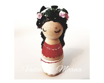 Moana peg doll