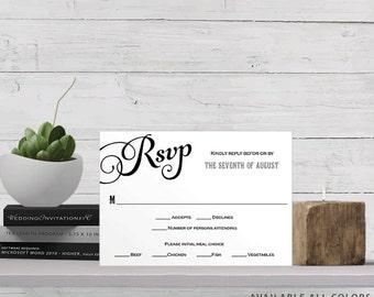 print rsvp cards