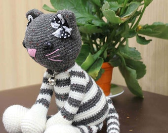Cat Molly  | Crochet Cat Pattern