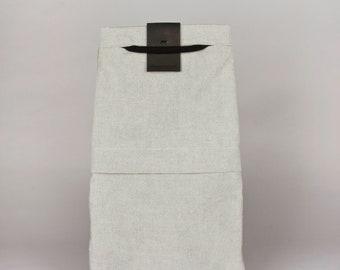 Drawstring backpack FANT/grey