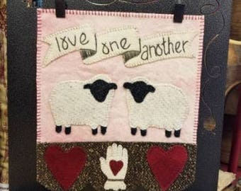Simply Sheep Love One Another