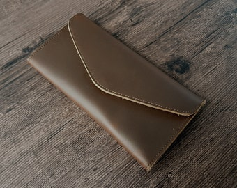 Leather wallet for women, ladies wallet, big wallet, minimalist wallet, clutch wallet, wallet purse,  womens leather wallet, womens gift