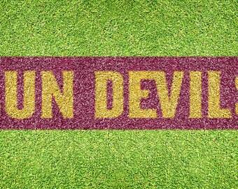 """Arizona State """"Sun Devils"""" – Lawn Stencil Kit"""