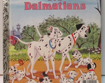 101 Dalmations a little golden book 1985 very good condition
