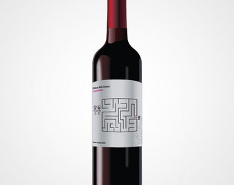 Wedding - Announcement wedding wine label