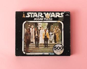 Vintage 1977 Series III Star Wars Jig Saw Puzzle Victory Celebration Sealed Unopened Kenner