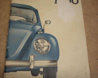 1964 Volkswagen Beetle Instruction Manual