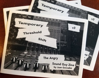 Angry Sound Guy Zine - VOLUME 3 - The Digital Edition