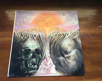 """The Moody Blues """"In Search Of The Lost Chord"""" 1968 Deram London Records Rare Vintage Original Music Display Standee"""