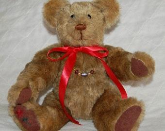 Handcrafted Brown Teddy Bear