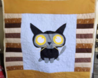 Kitty Cat Baby Quilt or Wall Display