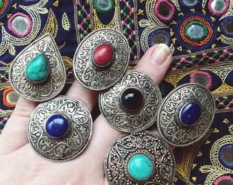 Vintage Tribal ring Afghani ring Boho tribal ring