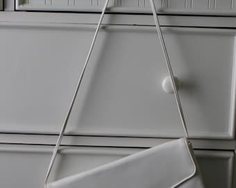 Vintage White Clutch Purse