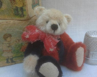 George a miniature bear by Sally Lambert