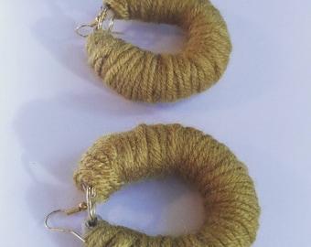 Mini Yarn hoops