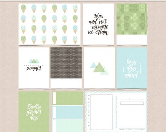 Sommerset Stories - Journal Cards - Project Life