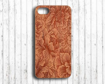 Floral  iphone 7 plus case flower  iphone 7 plus case wood  iphone 7 case wood  iphone 6s plus case  iphone 6 case bamboo