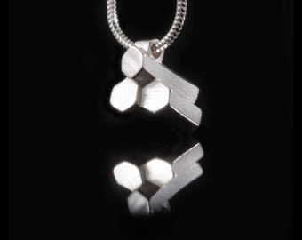 Silver Giants Causeway Necklace - Sterling Silver Necklace 925,  Causeway Necklace, Necklace Silver jewellery UK, UK Seller HALLMARKED