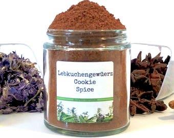 Lebkuchengewüerz/Lebcuchen/Pfeffernüsse/Cookie Spice/Food Gift/Spice Rack/Seasoning Blends/Gifts for Foodies/Foodie Gift/Cooking Gift