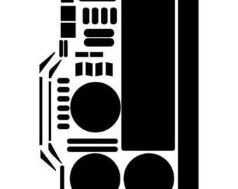 Anovos TFA Stormtrooper Armor Decal Set
