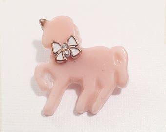 Pastel Unicorn Pin   Unicorn Brooch   Pastel Pin   Fairy Kei Pin   Fairy Kei Brooch   Party Kei   Sweet Lolita Pin   Lolita Brooch   Pony