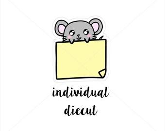Sticky note nina|| DIECUT (D002)