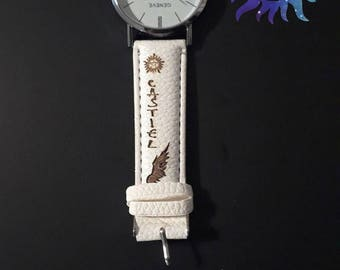 Supernatural Castiel leather watch