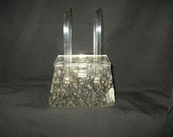 Lucite Box Bag