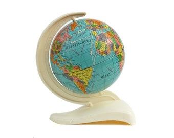 Small Globe Mid Century