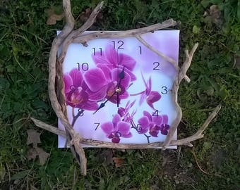 clock wood Driftwood Orchid