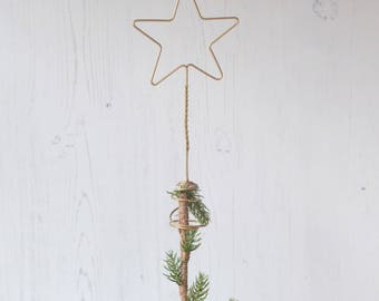 Star Tree Topper, Copper Tree Topper, Metallic Tree Topper, Star Christmas, Gold Christmas, Christmas Home, Christmas Decorations