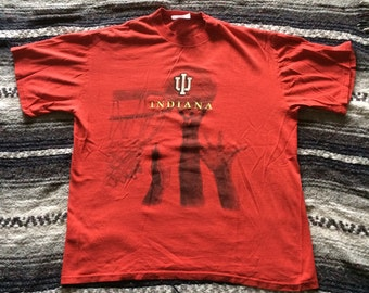 Vintage Indiana Hoosiers Basketball T-Shirt
