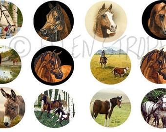 STICKERS, Horses, Horse decor, Western decor,Envelope Seals, Art, Ellen Strope, Repositionable adhesive, gifts, Fun stickers